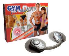 Cuerpo del sistema electrónico de tóner de Fitness Muscular Masaje Gimnasio forma Duo para cuello de pie