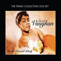SARAH VAUGHAN - BROKEN HEARTED MELODY 2 CD NEU