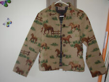 New Direction jacket running horses M