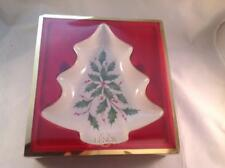 Lenox Christmas Tree Candy Dish New in Box