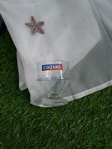 Highly Collectable 1970s Cinzano Glass Cinzano On the Rocks