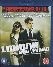 London Boulevard (Blu-ray, 2011) COLIN FARREL KIERA KNIGHTLEY RAY WINSTONE