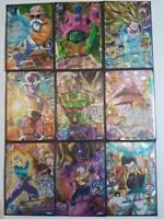 Carte DBZ Dragon Ball Heroes Jaakuryu Mission Part 1 HJ1 # SR R N Set BANDAI