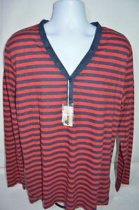 DIESEL Man's T-COSTA Button Up Long Sleeve T-Shirt  NEW Size XX-Large Retail $78
