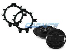 """PIONEER 6.5"""" 3 WAY CAR TRUCK STEREO FRONT DOOR SPEAKERS WITH MOUNTING BRACKETS"""