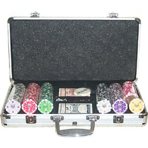 Set Poker 300 fiches WSOP Replica 14 gr.
