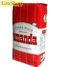 Y18 YERBA MATE AMANDA ROJA 500GR MATE TEA ARGENTINA