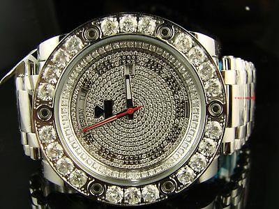 Aqua Master Jojo Joe Rodeo Magnum Diamond Watch 10.9 Ct