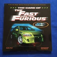 THE CARS OF THE FAST AND THE FURIOUS - 1ST. ED. INSCRIBED BY EDDIE PAUL