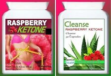 Uk Fresh Raspberry Ketone Daily Fat Burner-Slimming Diet Pills-Plus Cleanse