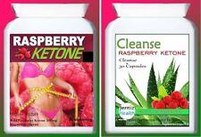 Uk Fresh Raspberry Ketone Daily Fat Burner-Slimming Diet Pills-Plus Cleanse
