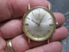 MANS Omega SEAMASTER DEVILLE AUTOMATIC 14K GOLD FILLED MENS Running Wristwatch