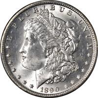 1890-O Morgan Silver Dollar PCGS MS63 Blast White Great Eye Appeal Nice Strike
