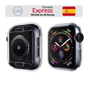 Funda Silicona Gel Transparente para Apple Watch iWatch Series 3/4/5/6 Completa