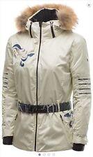 Colmar Woman Ski Jacket Golden F2056-4OU-11 Size XS EU 36