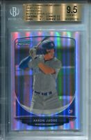 Aaron Judge 2013 Bowman Chrome Draft Pick Rookie Refractor Card (BGS)