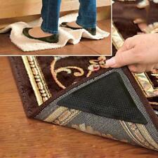 Ruggies Rug Carpet Mat Grippers Non Slip Grip Corners Anti Skid Rubber 4pcs J