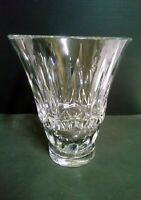 Important Vase Crystal Size Stamp BACCARAT France Height 11 3/8in