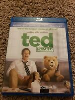 Ted (Blu-ray Disc, 2012, 2-Disc Set, Unrated)