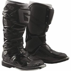 Gaerne SG12 Boots - Black/Grey, All Sizes