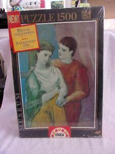 """""""Los Amantes"""" Pablo Ruiz Picasso 1500 Pc Puzzle RARE SPANISH IMPORT - SEALED"""