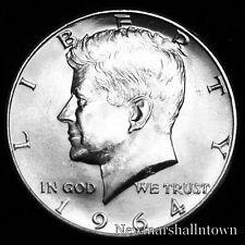 1964 (P) Kennedy Silver Half Dollar ~ U.S. Raw Coin from Bank Roll