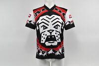 Verge Men's Small BMX Mad Dog Short Sleeve Jersey Red/Black Brand New
