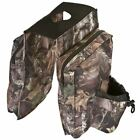 Camo ATV Water-Resistant Saddle Storage Bag with Cup Holder