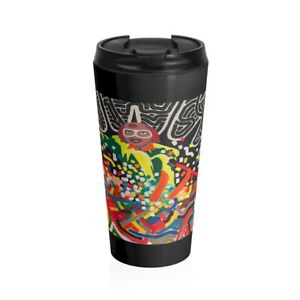 Saul Mancell The Very Fast Skier Stainless Steel Travel Mug