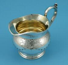 Milchkännchen - versilbert / innenvergoldet - Sheffield um 1920 - #GSF4239