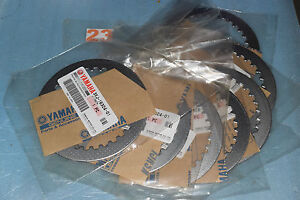 7 Dischi Frizione Lisci Originale YAMAHA YZ 125 1993/2015 réf.3XJ-16324-01