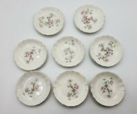Lot of 8 Maddocks Lamberton Works Royal Porcelain Bread & Butter Pat 1892-1923