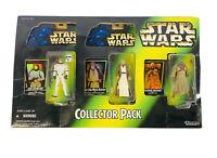 STAR WARS Kenner POTF2 RARE Sam's Club Collector Pack Luke Obi-Wan Tuscan Raider