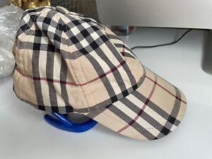 Authentic Burberry check Cap