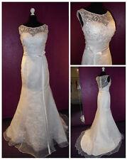 Brautkleider aus Polyester mit Mermaid & Trompete