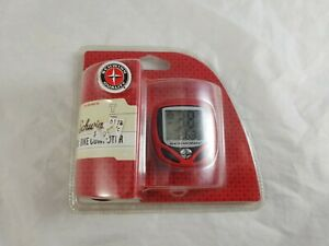 New 2002 Schwinn Red 12 Function Bicycle Computer Speedometer / Odometer SW500T