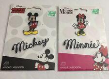 Disney Minnie & Mickey Mouse Iron On Patch Iron Sew On