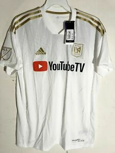 ADIDAS MLS JERSEY LAFC LOS ANGELES FC TEAM WHITE MEN'S SIZE M