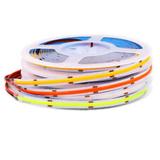 COB Bendable LED Strip Lights Tape TV Back Lighting Fairy Light 384leds/m 1M-5M
