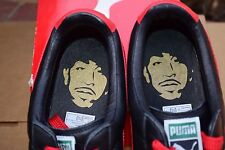 2007 Puma CLYDE x LUDACRIS LUDA size 12 OSTRICH BLACK RED DTP crooked Pigeon