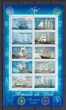 "Frankreich 1999 postfrisch Klb. MiNr. 3410-3419 Schiffsparade ""Armada du Siècle"""