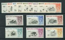 Falkland Islands 1960-66 set SG193/207 MNH cat £170