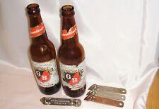 Greisedieck Brewing Co. St. Louis - (2) Brown Bottles & (4) Bottle Openers