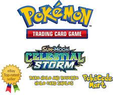 Pokemon Celestial Storm Rare Holo & Reverse Holo Card Singles Selection