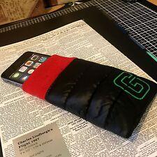 Apple iPhone 5 ISOLATO Sacco A Pelo Custodia Protettiva Cover Nero