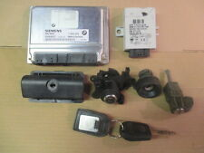BMW E46 328 i 2.8 PETROL COUPE 5 SPEED MANUAL - ECU SET + FULL LOCK SET & KEY