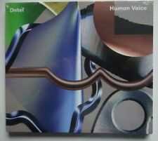 DNTEL Human Voice - CD in Digipak Cover (2014) NEW & SEALED!!!!