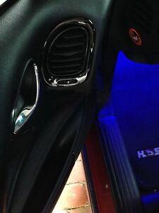 VT VX VU VY VZ WH Monaro V2 HSV SV6 CV8 SS Calais Door Vents Piano Black