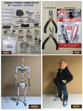 M00220 MOREZMORE HPA Magnetic Wrists Kit Humanly Posable Armature Magnet