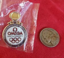 OMEGA Official Timekeeper 2012 Olympic Games London Men's Pin - 3:51:659 4000M